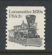 USA 1982 Scott # 1897A. Transportation Issue: Locomotive1870s, MNH (**) - Coils & Coil Singles