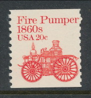 USA 1981 Scott # 1908. Transportation Issue: Fire  Pumper 1860s, MNH (**). Tagget - Coils & Coil Singles
