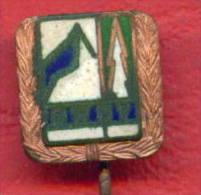 F1701 / DWDV - Dresdner Wanderer- Und Bergsteigerverein - DDR Deutschland Germany Allemagne Germania - Badge Pin - Alpinismus, Bergsteigen