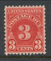 USA 1931 Scott # J81.  Postage Due Stamp, Perf. 11.0 X 10.5,  MNH (**) - Postage Due