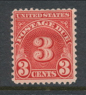 USA 1931 Scott # J81.  Postage Due Stamp, Perf. 11.0 X 10.5,  MH (*) - Postage Due