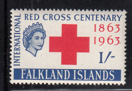 Falkland Islands MNH Scott #148 1sh Red Cross Centenary - Falkland