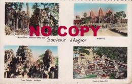 SOUVENIR D'ANGKOR CAMBODGE ASIE SITE ARCHEOLOGIQUE MONUMENT CHANG SAY VAT PALAIS LE BAYON TEMPLE - Cambodia