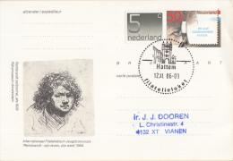 Nederland - Eerste Stempeldag Filatelieloket - Hattem - 12 November 1986 - Geuzendam 362 - Poststempels/ Marcofilie