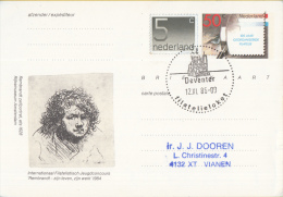 Nederland - Eerste Stempeldag Filatelieloket - Deventer - 12 November 1986 - Geuzendam 362 - Poststempels/ Marcofilie