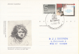 Nederland - Eerste Stempeldag Filatelieloket - Schiedam - 1 April 1987 - Geuzendam 362 - Poststempels/ Marcofilie