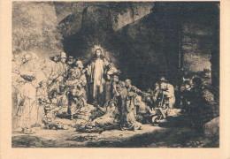 """Christus De Zieken Genezende, Of De """"Honderd Guldens Prent"""" (REMBRANDT) - Non Circulée - - Jésus"""
