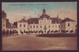 STOCKAY WARFUSEE - Le Ch�teau - cour d'honneur - couleur 1931 - Cachet Taxe  //