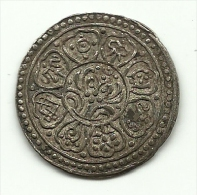 1912 - Tibet 1 Tangka - Monete