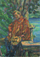 BOCCIONI (1882-1916) - Ritratto Del Maestro Busoni / Portrait De Maître Busoni  - Non Circulée, 2 Scans - Peintures & Tableaux