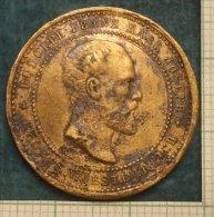 M_p>Medaglia Commemorativa Morte Di Rodolfo D'Asburgo-Lorena Erede Al Trono Dell'Impero Austro-Ungarico - Royal / Of Nobility