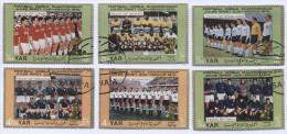 Football, Soccer, Futbol - World Cup, MEXICO, 1970. Stamp Y.A.R. - 1970 – Mexico