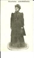 CPA  Henriette COURREGES, Servante Au Café De La Gare à LANGON  9470 - Langon