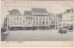 21325g PLACE De La STATION - HOTEL - RESTAURANT - CAFE - Heyst - 1906 - Heist