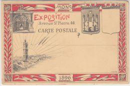 21328g EXPOSITION De MONS - 1896 - Avenue St. Pierre 44 - Pionnière - Mons