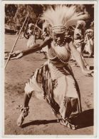 21337g CONGO BELGE - RUANDA URUNDI Danseurs Du Chef Biniga - Costermansville - 10.5x15c - Carte Photo - Congo Belge - Autres