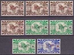 Nouvelle Calédonie - Yvert N° 249 à 256 Luxes (MNH) - Cote +11 Eur - Prix De Départ 4 Eur - New Caledonia