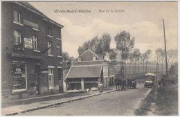 """21353g EPICERIE MODERNE - RUE De La STATION - """"Chicorée David Cajot Namur"""" """"Secours Aux Cyclistes"""" - Rhode-Saint-Genèse - St-Genesius-Rode"""