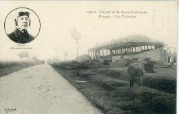 76 - DIEPPE - Les Tribunes - CIRCUIT DE LA SEINE INFERIEURE - Degrais, Automobiles Germain - Dieppe