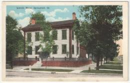 Lincoln Home, SPRINGFIELD, Ill. - Springfield – Illinois