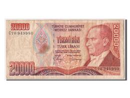 Turquie, 20 000 Lira Type Atatürk, - Türkei