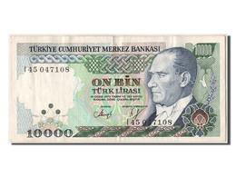 Turquie, 10 000 Lira Type Atatürk - Turquie