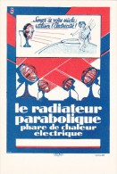 * 457  CPA   Le Radiateur Parabolique Phare De Chaleur Electrique - Publicité
