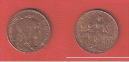 DUPUIS  //  10  CENTIMES 1913  //  ETAT  SUP  //  PLUS BELLE QUE SCAN - D. 10 Centimes