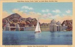Eight Meter Racing yacht Loke On Lake Mead Boulder Dam Boulder D