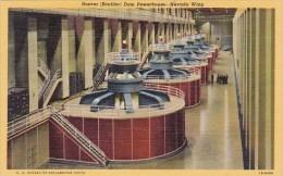 Hoover Boulder Dam Powerhouse Nevada Wing Boulder City Nevada
