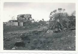 HAITI ,village Détruit Par Un Cyclone,caraibes Photo Rare De Dimension 9cm X 6 Cm - Haïti