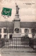 Cpa 1910 CLEGUEREC, Statue De Pobéguin, (liberté)  (32..46) - Cleguerec