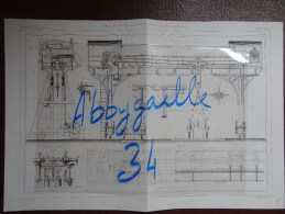 GRUE ROULANTE A VAPEUR DE 10 TONNES, PAR M. QUILLACQ Publication Industrielle - Tools