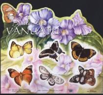 Vanuatu 2010 Butterflies SS MNH - Vanuatu (1980-...)