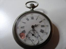 VINTAGE :  GOUSSET NR 505 - Orologi Da Polso