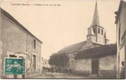 LOIVRE - L'Eglise Et La Rue De Bac - En L'état - France