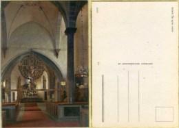 Ak Schweden - Öja - Gotland  - Kirche,church,Eglise - Innenaufnahme - Kirchen U. Kathedralen