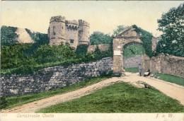 CARISBROOKE CASTLE - 2 Scans - England