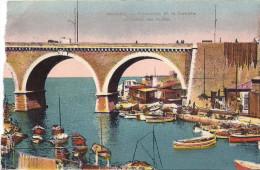 Cpa Marseille, Promenade Sur La Corniche, La Vallée Des Auffes - Quartiers Sud, Mazargues, Bonneveine, Pointe Rouge, Calanques