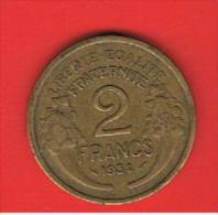 FRANCIA - FRANCE = 2  Franc  1934  KM886 - Francia