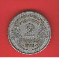 FRANCIA - FRANCE = 2  Franc  1945  KM886a1 - Francia