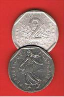 FRANCIA - FRANCE = 2 Franc  1982  KM942 - Francia