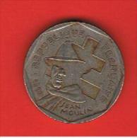FRANCIA - FRANCE = 2  Franc  1993  KM1062  Jean Moulin - Francia