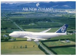 (PH 16) Aircraft - Avion - Air New Zealand 747 - 1946-....: Moderne