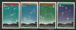 """Botswana    """"Night Sky Over Botswana""""   Set   SC# 84-87  MNH** - Botswana (1966-...)"""