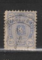 Yvert 16a Oblitéré Dentelé 11 - Gebraucht