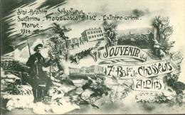 83 - Draguignan, Souvenir Du 7° Bat. De Chasseurs Alpins - Sidi Brahim - Solférino - Maroc 1914 - 15 - Draguignan