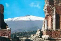 CPM - TAORMINA - Teatro Greco E L'Etna - Sin Clasificación