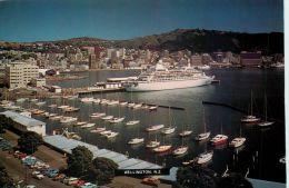 Port, Wellington, New Zealand Postcard - Neuseeland
