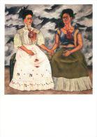 Kahlo, Frida  The Two Fridas Museo De Arte Moderne Mexico Art Postcard - Peintures & Tableaux
